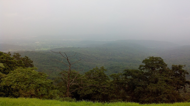 View From Karnala Fort in Panvel