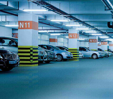 One Indiabulls Centre, Lower Parel - Parking Area