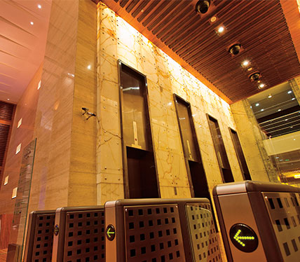 One Indiabulls Centre, Lower Parel - Lobby & Lifts