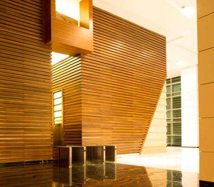 Indiabulls Finance Centre - Hallway Interior