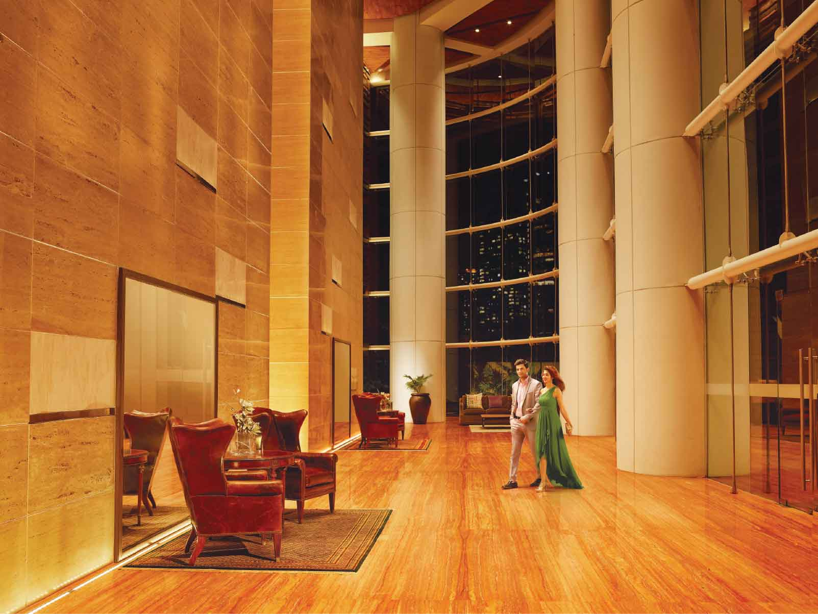 Indiabulls Sky - Grand Quadruple Heighted Lobby